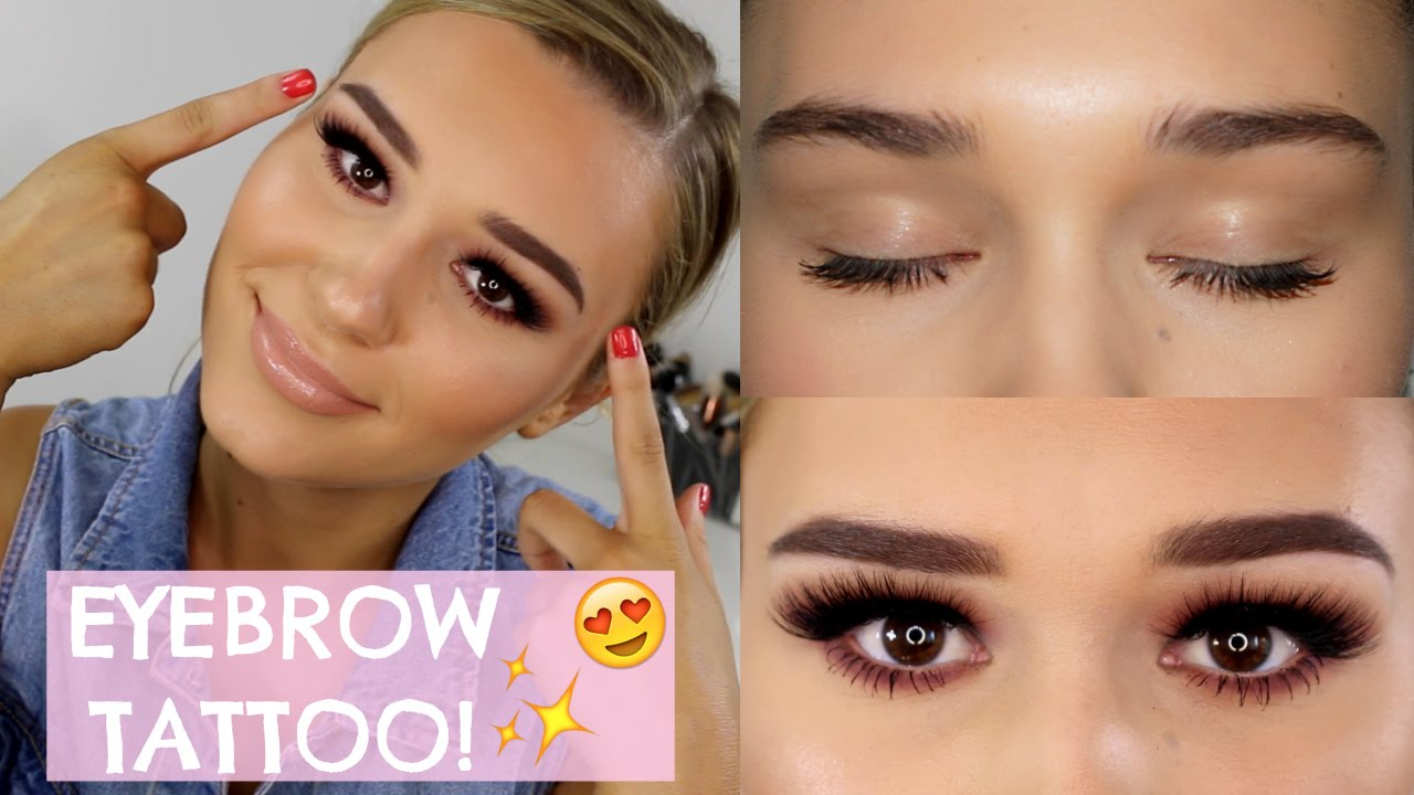 Facts About Eyebrow Tattoos Eyelash Extensions